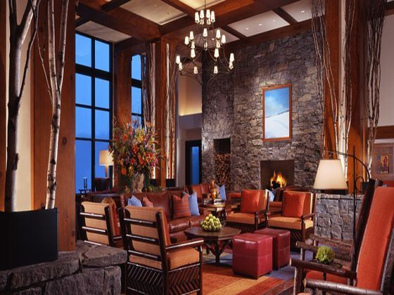 Stowe Mountain Lodge Lobby