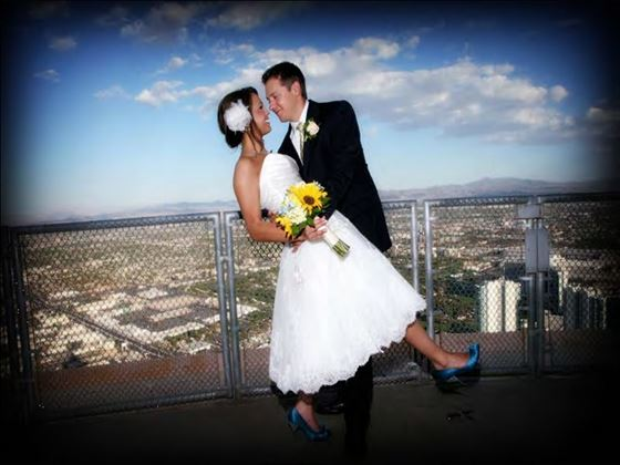 Your wedding on the Outdoor Observation Deck