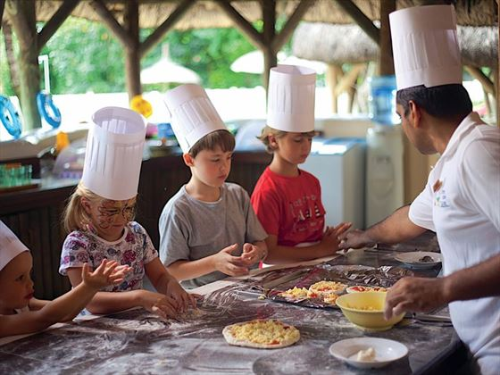 Cooking class for the kids
