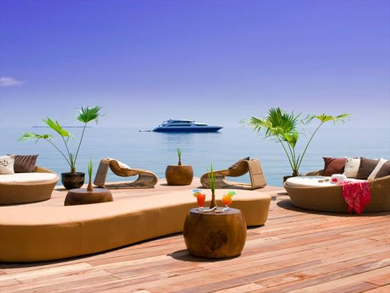 Sun deck at Centara Grand Island Resort & Spa