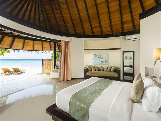 The Sun Siyam Iru Fushi Beach Villa