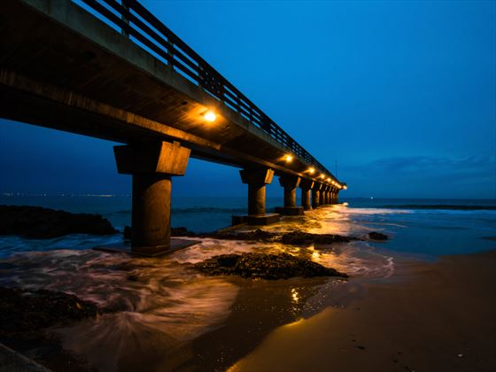 Sunrise at Shark Rock Pier, Eastern Cape