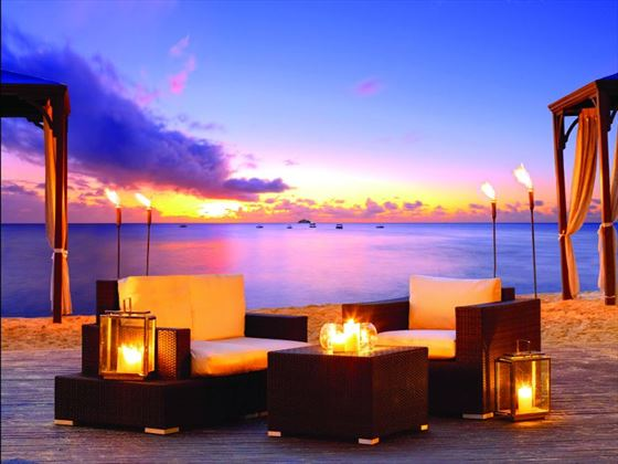Sunset at The House by Elegant Hotels