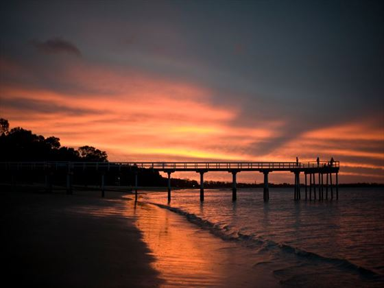 Sunset at Hervey Bay