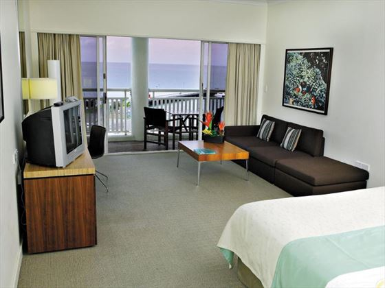 Superior Bay View Room at Shangri-La Cairns