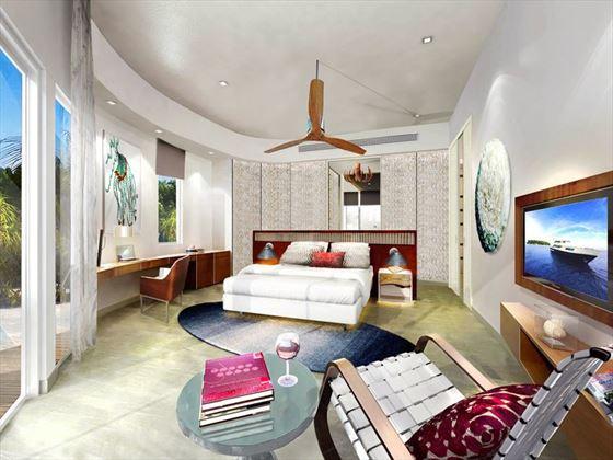 Residence interior - artist's impression