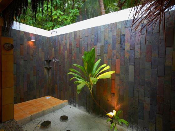 Superior villa outdoor Shower