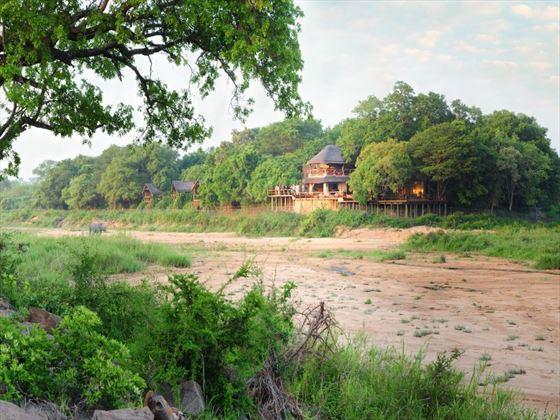 Surrounding landscape of Jock Safari Lodge