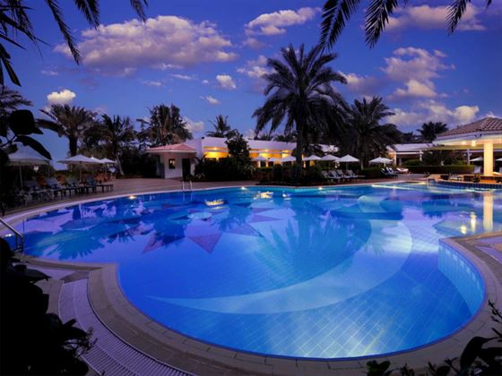 Swimming pool at Kempinski Hotel Ajman