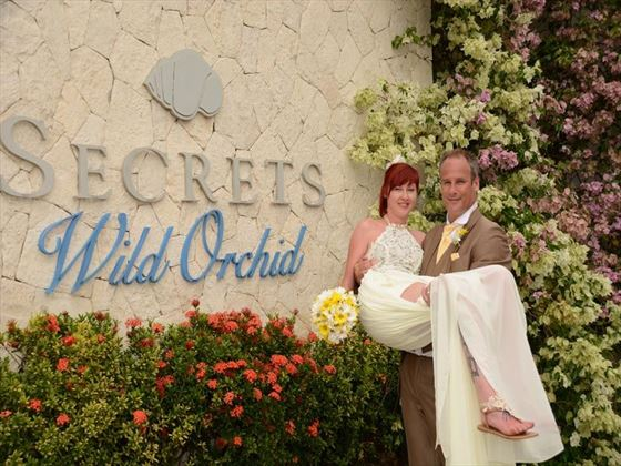 Secrets Wild Orchid Montego Bay couple