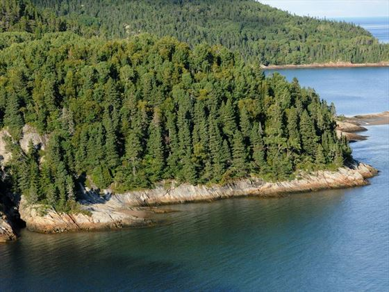 Tadoussac coastal landscape, Quebec