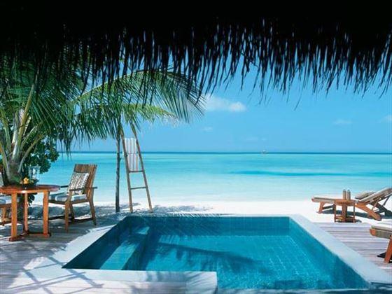 Taj Exotica Resort & Spa Beach Villa private pool