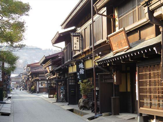 Takayama, old town