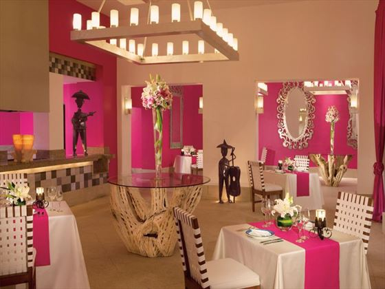 Tamarindo Restaurant at Now Jade Riviera Cancun