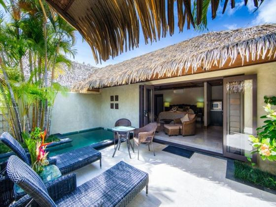 Te Manava Luxury Villas & Spa private plunge pool