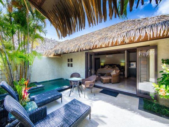 Te Manava Luxury Villas & Spa private plunge pool
