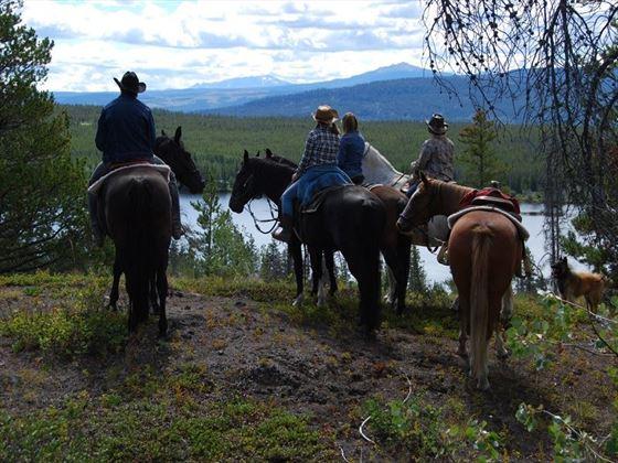 Terra Nostra Ranch, horseriding trips