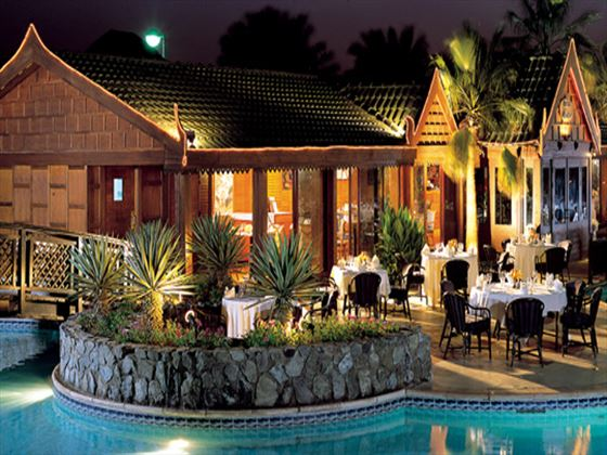 Thai Bistro restaurant at Dubai Marine Beach Resort and Spa