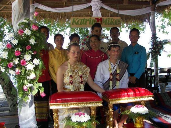 Thai wedding ceremony