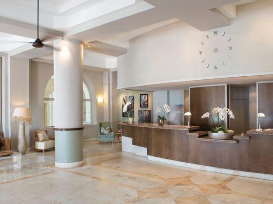 The Bay Hotel lobby