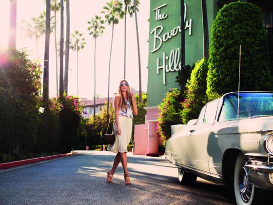 The Beverly Hills Hotel exterio