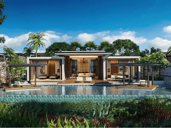 The Danna Langkawi One Bedroom Villa (artist impression)