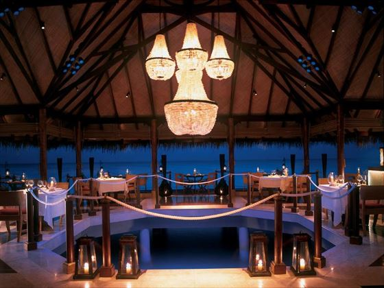 The Deep End restaurant at Taj Exotica Resort & Spa