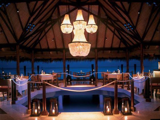 The Deep End restaurant at Taj Exotica Resort & Spa