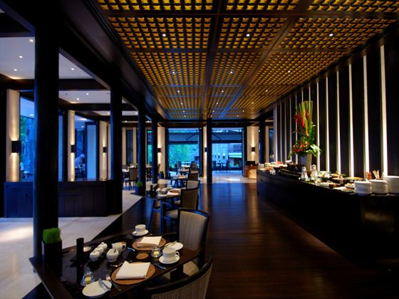 The Dining Room restaurant at The Datai