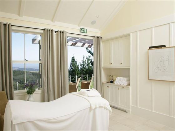The Farm at Cape Kidnappers spa treatment room