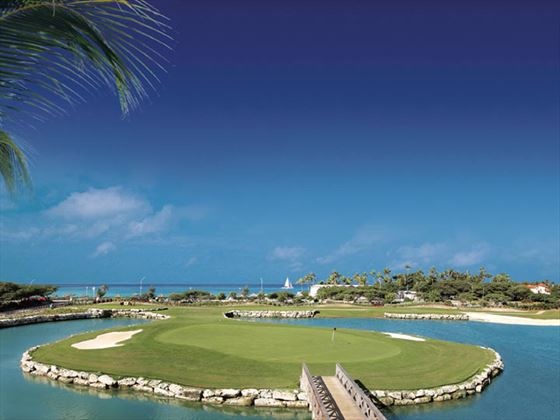 The Links golf course at Divi Village Golf & Beach Resort