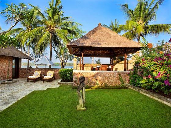 Courtyard Villa at The Oberoi Beach Resort Lombok
