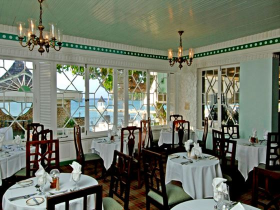 The Palm Room Gourmet Restaurant at Shaw Park