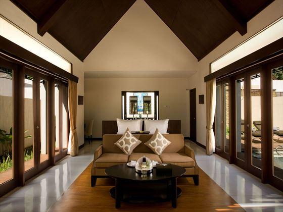 The Samaya Ubud Hillside Villa living room