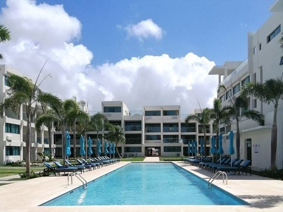 The pool at The Sands Barbados