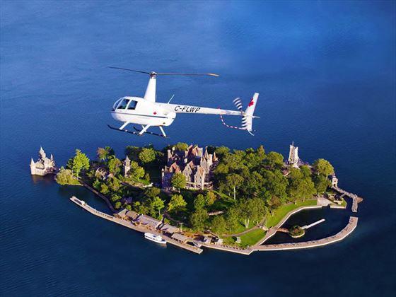 Thousand Island's Boldt Castle, Ontario