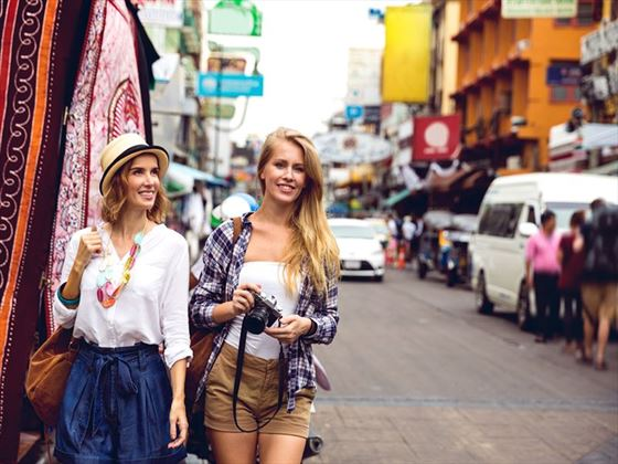 Tourists on Khao San Road, Bangkok