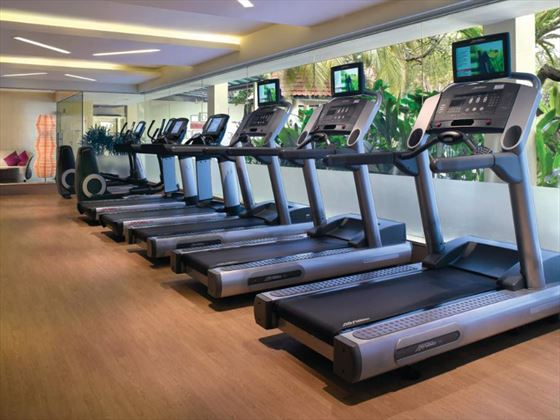 Traders Hotel Singapore by Shangri-La gym