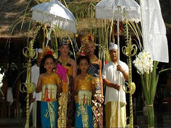 Traditional ceremony at The Pavilions