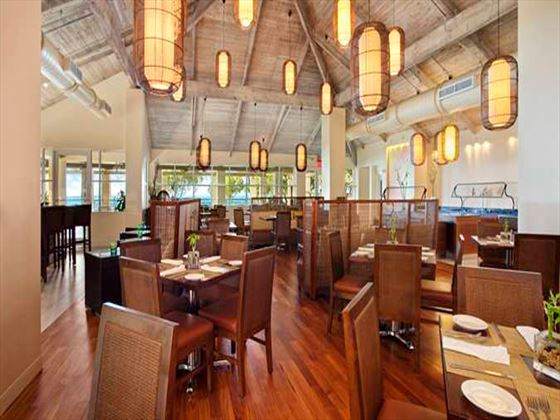 Treetops Restaurant at Hilton Key Largo