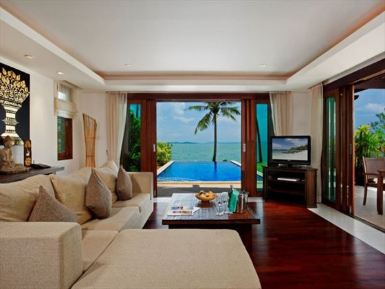 Two Bedroom Grand Villa living room