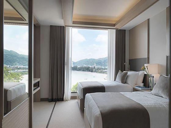 Two-Bedroom Ocean View bedroom at Amari Phuket