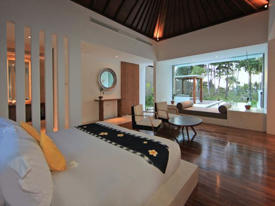 Bedroom at Candi Beach Resort