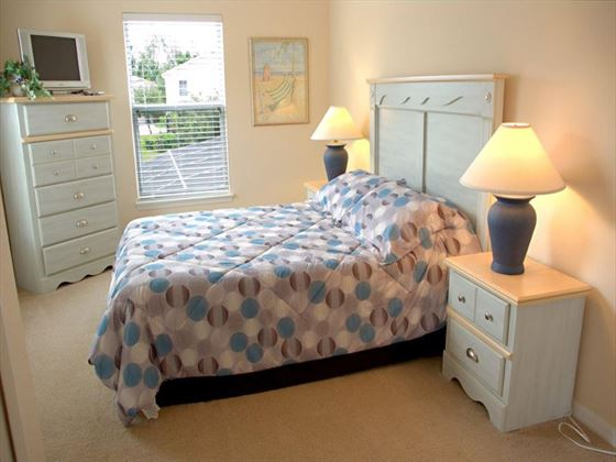 Typical Sandy Ridge Bedroom