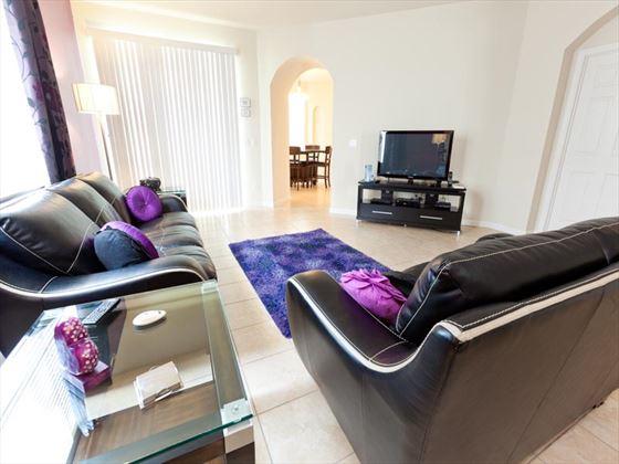 Typical Trafalgar Village Living Room