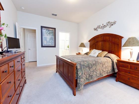 Typical Windsor Hills Bedroom