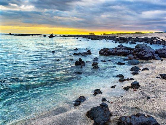 Unique Galapagos Rocky Beaches