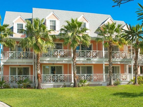 Valentines Resort Harbour Island villa exterior