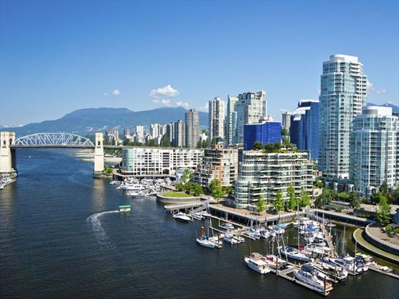 Vancouver in summer, British Columbia