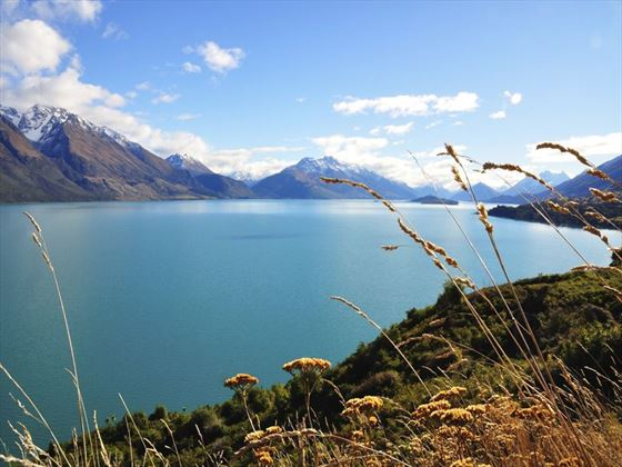 View of Lake Wakatipu